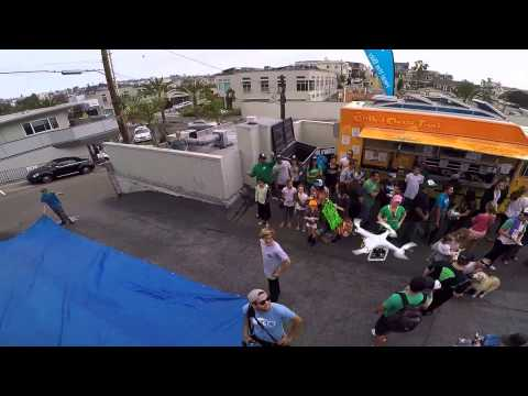 Becker Heal The Bay Event Drone footage