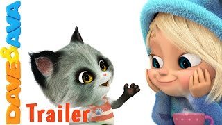 🗺️ Pussy Cat, Pussy Cat – Trailer | Nursery Rhymes and Baby Songs from Dave and Ava  🗺️
