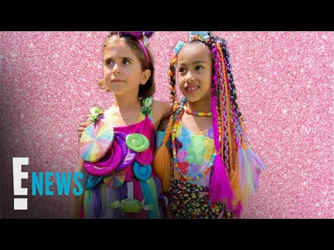 """Inside North West & Penelope Disick's """"Candy Land""""-Themed B-Day Bash