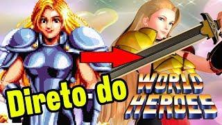 World Heroes não Morreu! Jeanne Está em SNK Heroines
