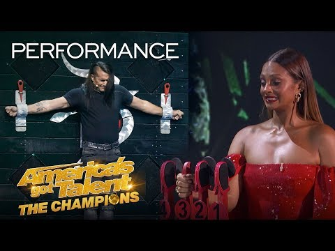 Danger Act Goes WRONG? Ben Blaque SCARES The Judges! - America's Got Talent: The Champions