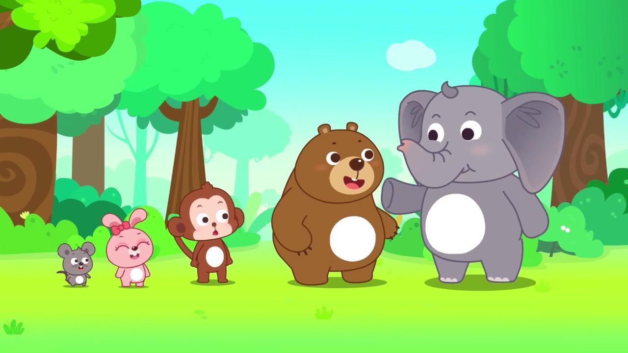 貝瓦兒歌英語大闖關|單曲: Small Mouse and Big Elephant|英文兒歌|貝瓦兒歌|Beva Kids Song|Nursery Rhymes - YouTube