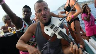 Ibiza Catamaran Party 2014 violist