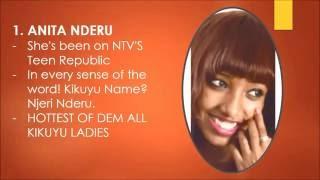 Top 10 most beautiful kenyan kikuyu women in the world 2016