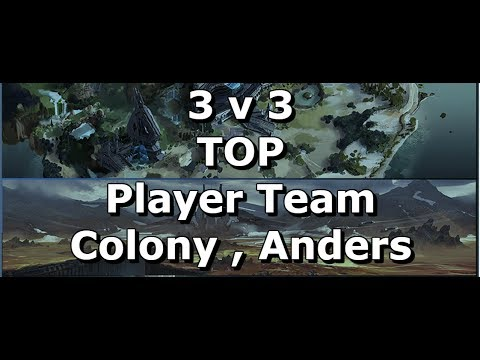 Halo Wars 2 - 3v3 Top Player Team All Champion (colony,anders)