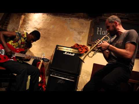 Kojack Kossakamvwe & Bart Maris at the Hot Club