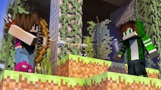 Minecraft Minigames - SKYWARS COM PAPIS #VídeoExtra