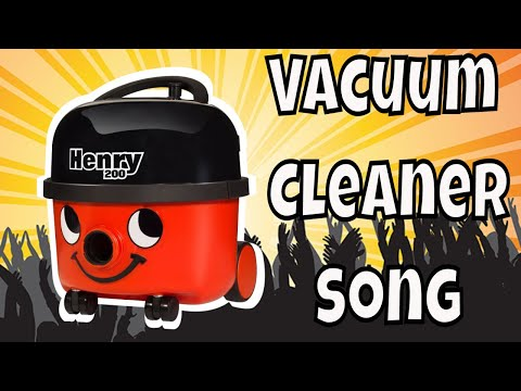 HENRY HOOVER SONG ~ Vacuum Cleaner Song for Children ~ Fun Movie for Kids