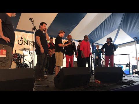Big G of Southern Soul live at the 2017 Richmond Folk Festival