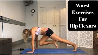 WORST Hip Flexor Exercises- And Better Ones To Try