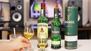 Glenfiddich 12 (Гленфиддик 12 лет) В чем отличие односолодового виски от купажированного ?