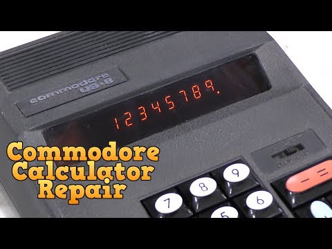 Commodore Calculator Repair