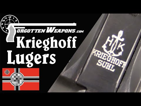 Krieghoff: Lugers for the Luftwaffe