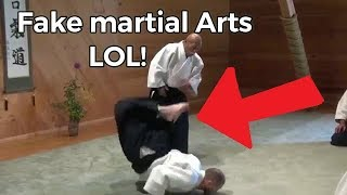 Fake Martial Arts Compilation (FAILS)