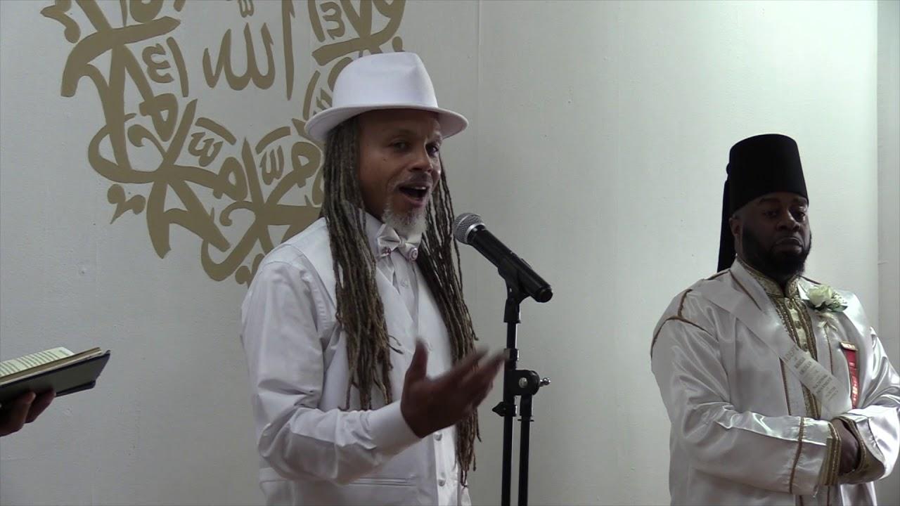 Moorish Science Temple of America Obligation Ceremony at Muhammad's Mosque  15B Atlanta