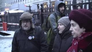 Пикет у здания ФСИН в Москве