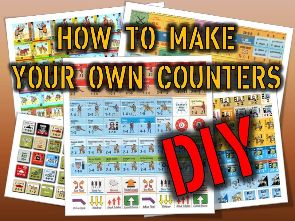 How To Make Your Own Counters