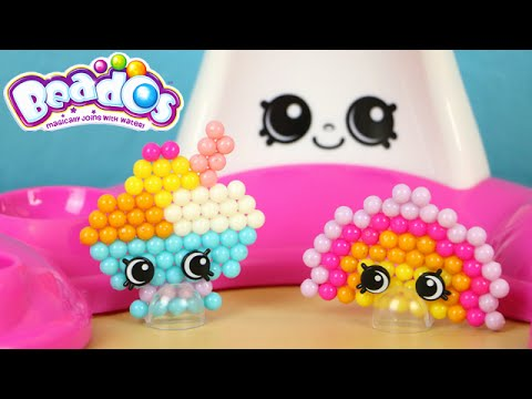 Shopkins Beados Prommy Ruby Earring Craft Fashion Cuties Set Review Pstoyreviews Youtube