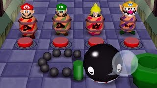 Mario Party 2 - All Funny Minigames