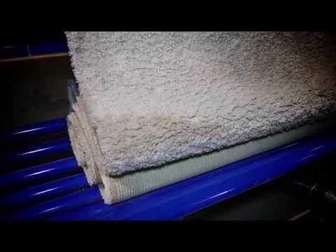 Станок для поднятия ворса, чистки и упаковки ковров