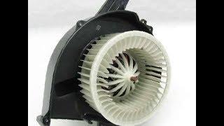 замена электродвигателя отопителя на VW Polo Установка моторчика печки на Polo Как снять вентилятор