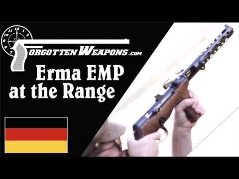 The Erma EMP at the Range