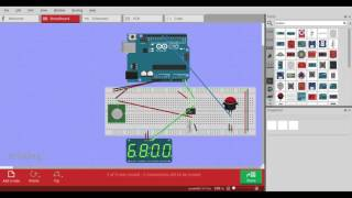 arduino real time clock with the ds1307