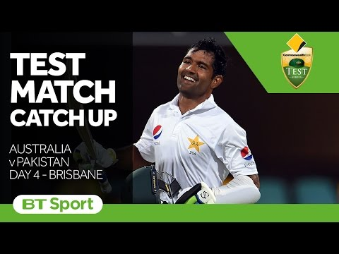 Australia vs Pakistan  First Test  Day Four Highlights   Test Match Catch Up New Flash Game