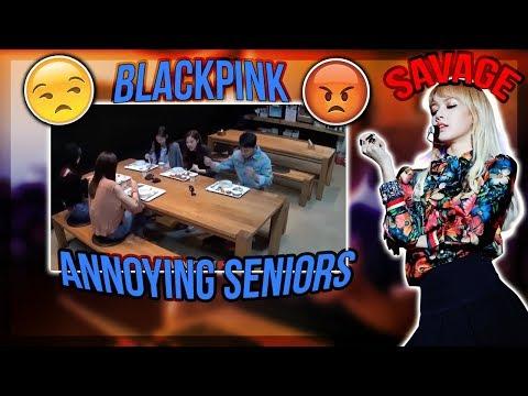 BLACKPINK annoying their YG Seniors | BigBang, iKON, Winner Reaction