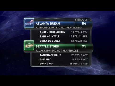WNBA Recaps: Dream vs Storm