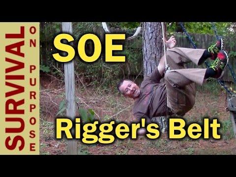 SOE D Ring Riggers Belt Review- Tactical Belt