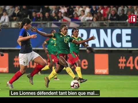 France 6 - 0 Cameroun: les Bleues surclassent les Lionnes