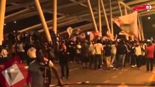 «وايت نايتس» يستقبل فريق اليد بمطار القاهرة بعد الفوز ببطولة إفريقيا