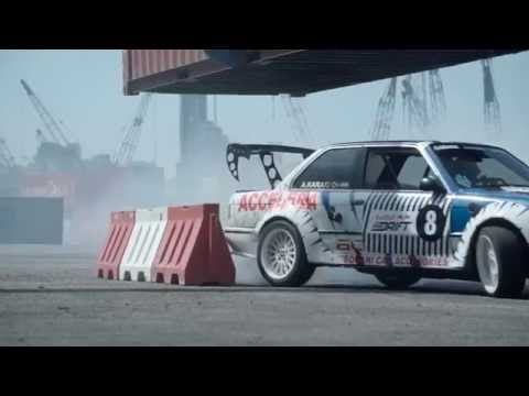 Red Bull Car Park Drift Port of Beirut Red Bull 2016