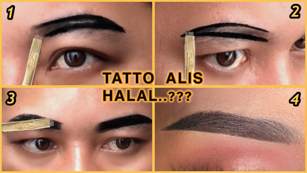 Cara Tatto Sulam Alis Halal Untuk Pemula Awet 2 Minggu Youtube
