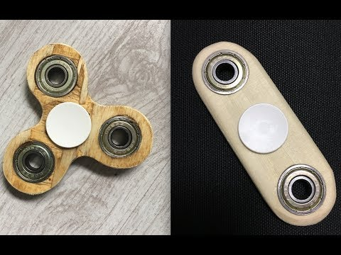bau dir deinen eigenen fidget spinner aus holz tutorial. Black Bedroom Furniture Sets. Home Design Ideas