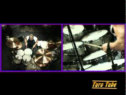 Ian Paice drum solo with Odessa - Whole lotta love (Led Zeppelin)