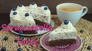 STRACCIATELLA TORTE BACKEN | Kuchen mit Stracciatella Creme selber machen [einfache Kuchenrezepte]