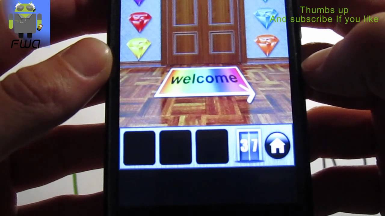 100 Doors Of Revenge Level 37 Solution Explanation Android Youtube