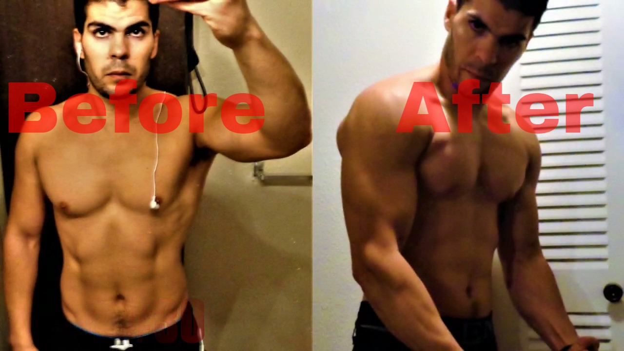 100 Push Ups Every Day For 30 Days Challenge! Before & After Results