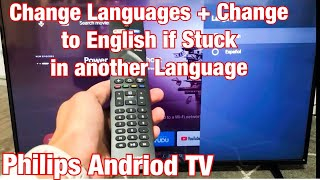 Philips Android TV: How to Cha…