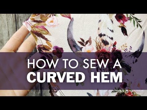 How To Sew A Curved Hem   DIBY.Club