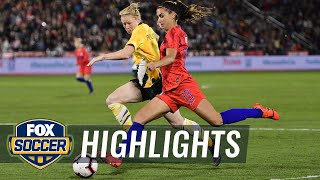 USWNT exposed again defensively in win over Australia | Women's International Friendly Highlights