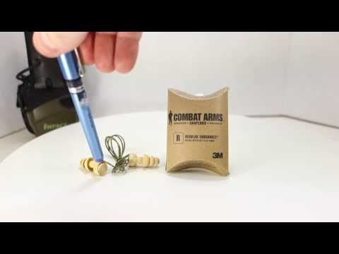 Combat Arms 3M Military Shooting Ear Plugs - Review And Discussion