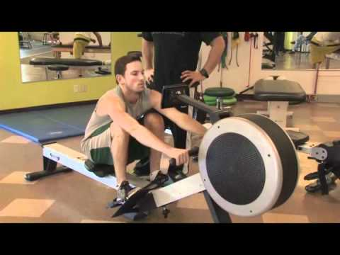 Lifecore Fitness Rowing Machine Model R100 Video Youtube