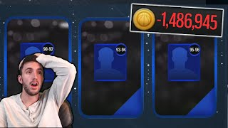 I already regret doing this.... (20+ Trade Up Packs in NBA Live Mobile)