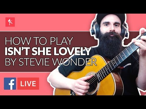 How To Play Isn't She Lovely by Stevie Wonder - Acoustic Guitar Lesson