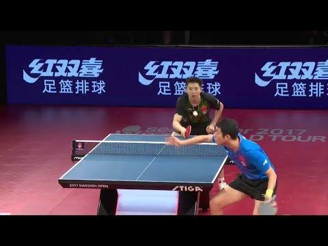 2017 Swedish Open (MS-SF) FANG Bo Vs XU Xin [Full Match/English|1080p]