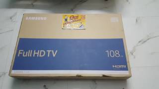Samsung 43K5100 LED TV | Quick UNBOXING