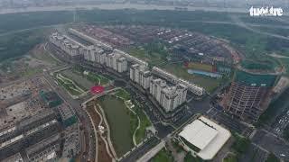 Một góc khu đô thị mới Thủ Thiêm, Q.2, TP.HCM